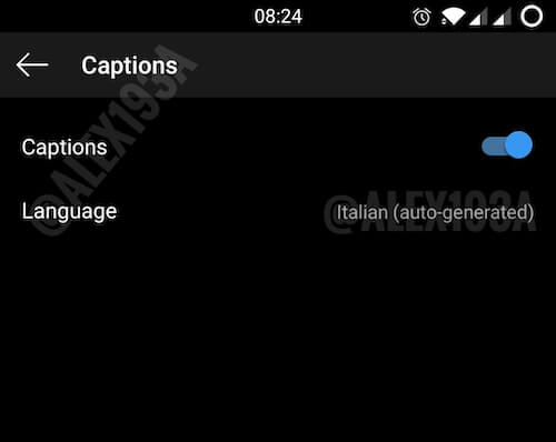 How to turn off subtitles on Instagram Stories