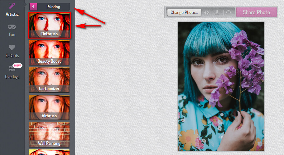 Styling your profile photo