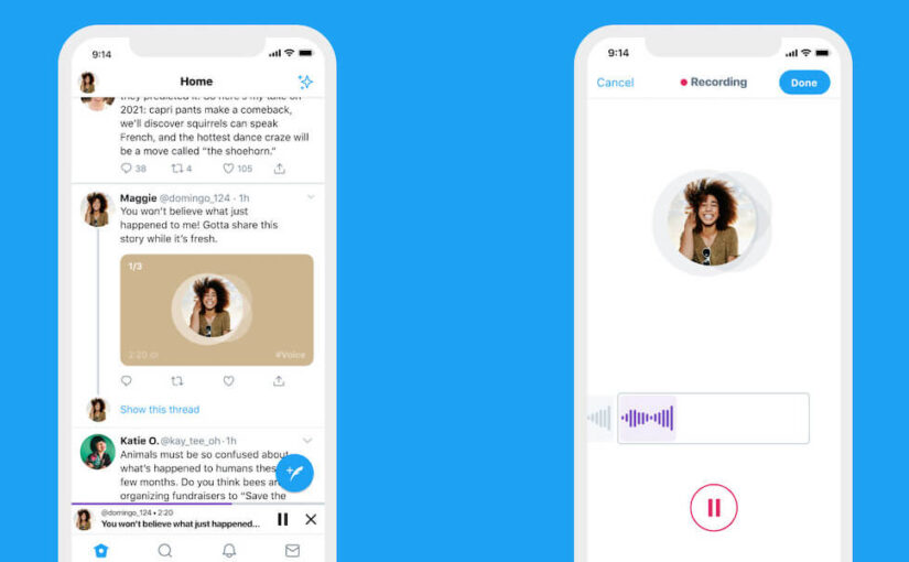 Twitter launches voice tweets up to 140 seconds long