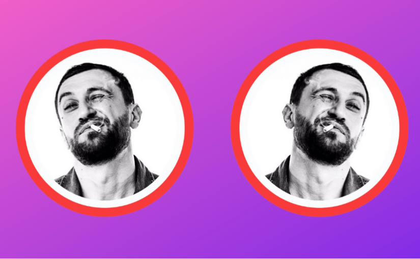 How to make and put a profile photo on Instagram.  Making an ava in a circle