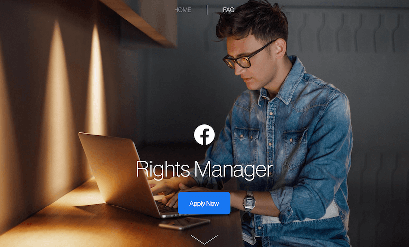 Facebook introduced a tool for protecting copyrighted content – Rights Manager