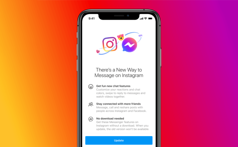 Instagram rolls out Facebook Messenger integration