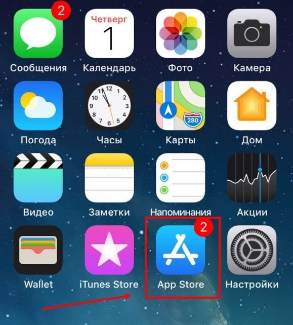 authorization in tik tok through VK on an iPhone step 1