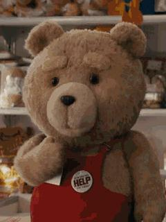 GIF Teddy still does not lose its popularity