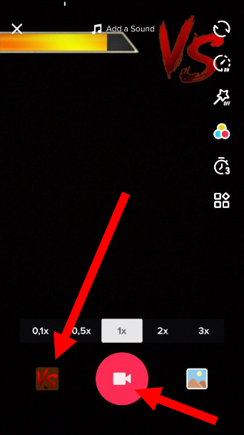 how to use tik tok effects step 4